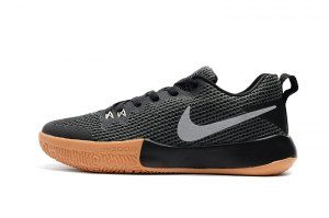 3b7253f045a2 Mens Nike Zoom Live II EP Black Anthracite Gum Light Brown Reflect Silver  AH7566 001 Basketball
