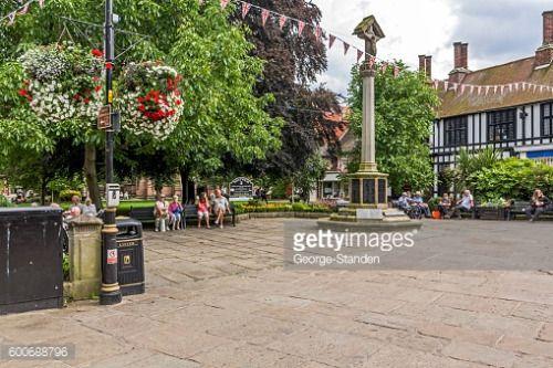 03-14 Nantwich, UK - July 20, 2016: View of Nantwich Town... #nantwich: 03-14 Nantwich, UK - July 20, 2016: View of Nantwich… #nantwich