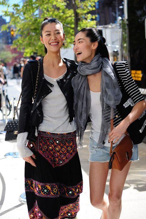 Liu Wen & Bonnie Chen