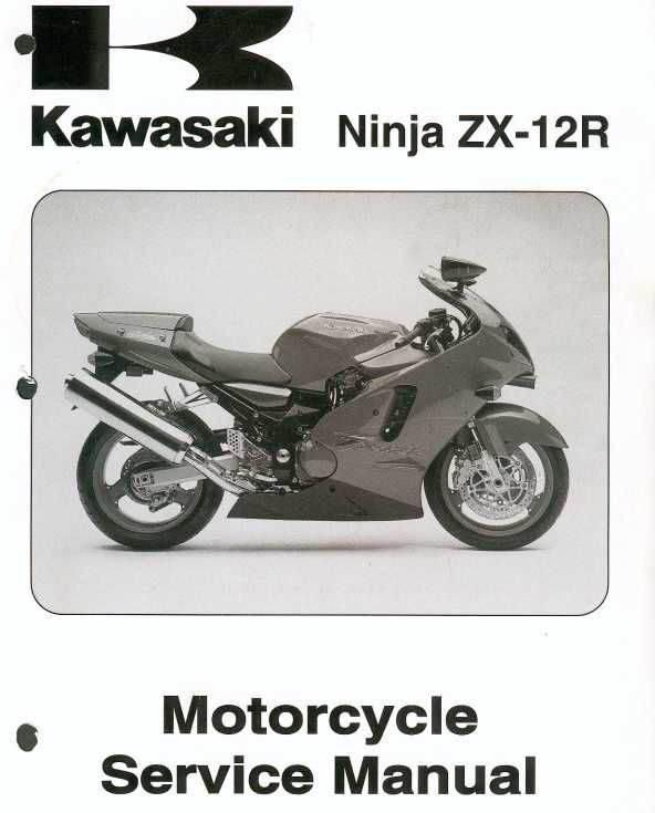 Pin By Procarmanuals Com On Zx12r Kawasaki Zx12r Kawasaki Motorcycle