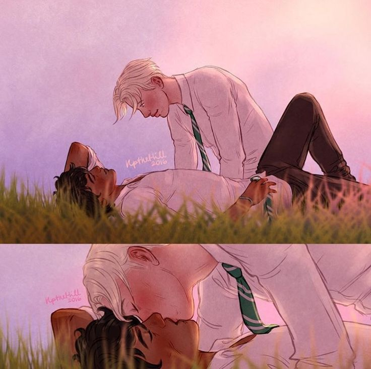 Lets play the is it drarry or is it scorbus game. I'm going with drarry.