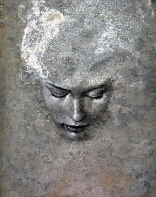 "Saatchi Online Artist: max gasparini; Oil, 2011, Painting ""little night magic"""
