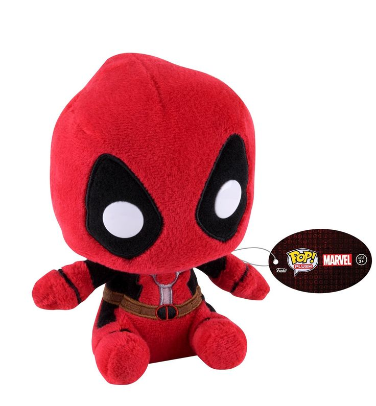 Funko POP Plush Regular Marvel Deadpool Toy Figure