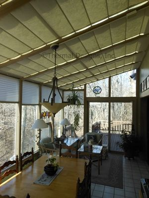 Marvelous Photo Gallery Of Thermal Designs Sunroom Shading Systems