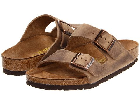 Birkenstock Arizona - Oiled Leather (Unisex) Tobacco Oiled Leather - Zappos.com Free Shipping BOTH Ways