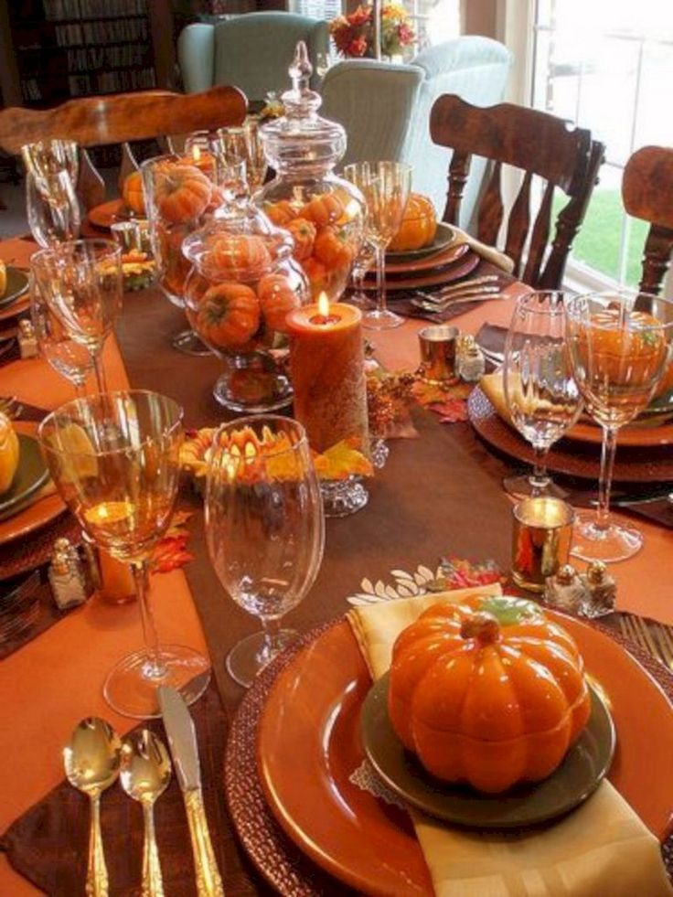 27+ Top Thanksgiving Table Ideas to Your Inspire