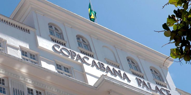 Copacabana Palace: This infamous luxury hotel has played host to royalty and celebrities since 1923