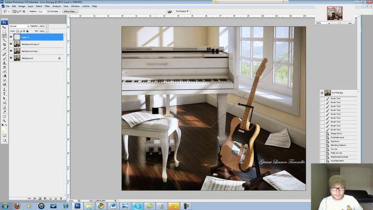 photoshop postproduction