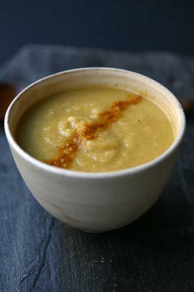 Les grands esprits se rencontrent?. Beh, per quel poco di spirito che possa avere una zuppa, è successo che ho 'immaginato' una zuppa di...