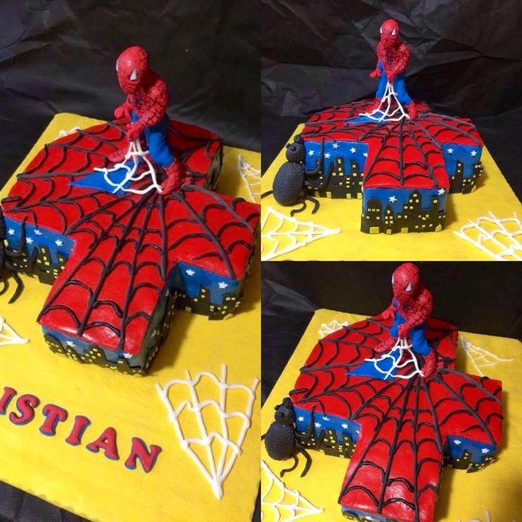 Spiderman per festeggiare Cristian
