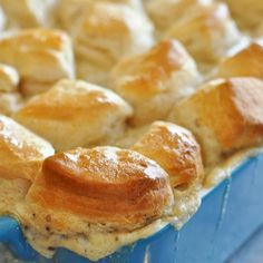 EASY!!! Biscuits and Gravy Casserole - By: Lemon Sugar