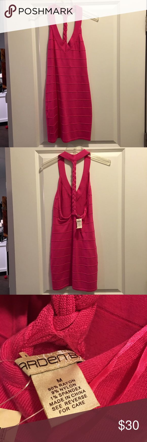 NWT Arden B Bandage Dress NWT. Pink bandage dress. Great to wear on a night out. Arden B Dresses Mini