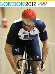 5 time Olympic Gold medalist Sir Chris Hoy