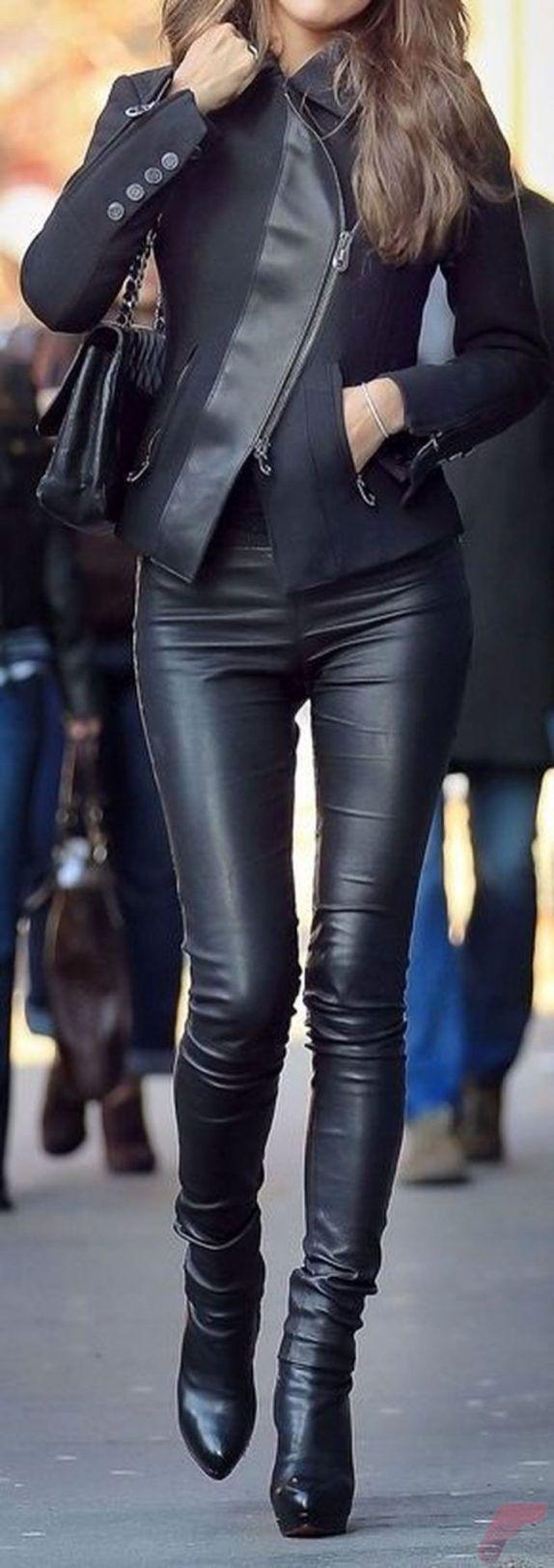 girls-stripping-black-leather-chicks