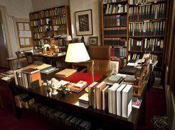 Werkkamer van Harry Mulisch: toekomstige museumzaal