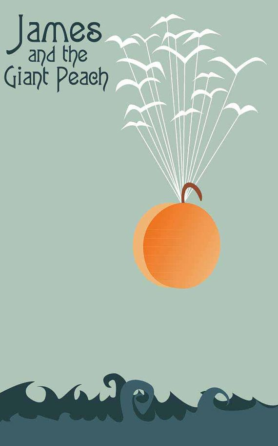 Flight of the Peach James and the Giant Peach by FADEGrafix