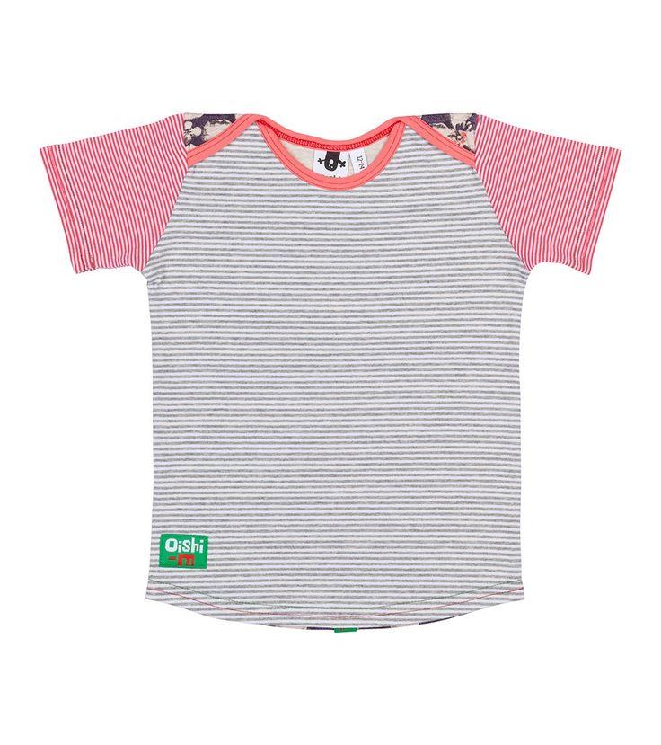 Soulmates S/S T Shirt, Oishi-m Clothing for kids, Hi Summer 2015, www.oishi-m.com