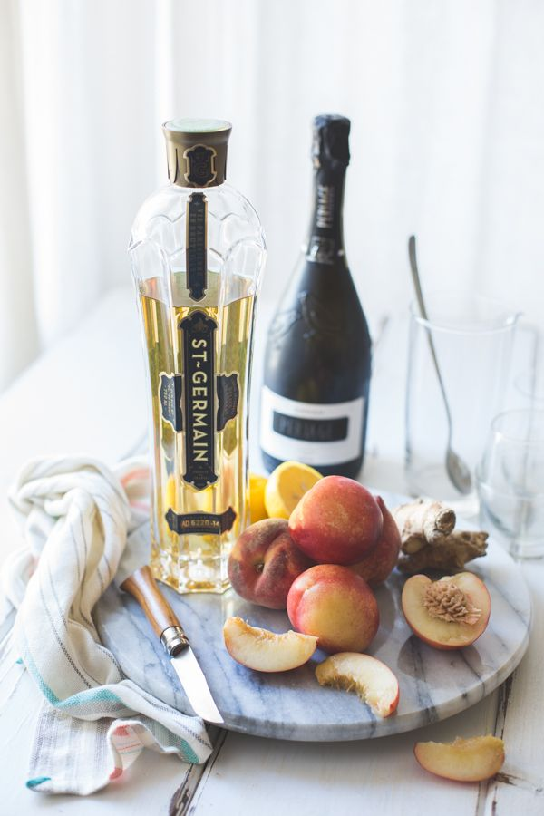 The Bojon Gourmet: White Nectarine Prosecco Sangría with Ginger & Elderflower