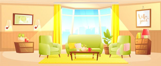 Download Classic Living Room Home Interior Design Banner For Free