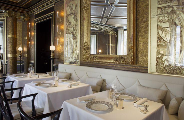 15 Supremely Stylish Restaurants in Paris Photos   Architectural Digest