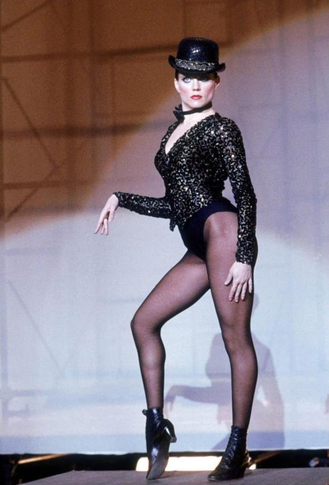 "Ann Reinking in Bob Fosse's ""All That Jazz"" She is my very favorite Jazz dancer. Amazing!!!"