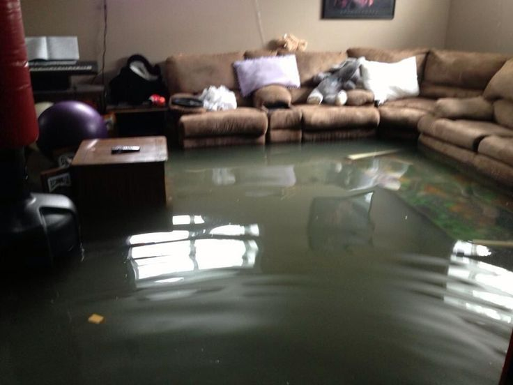 @Bunny Babstock Alicious 50s Inside the house of a Calgary flood victim. We're thinking about you #abflood