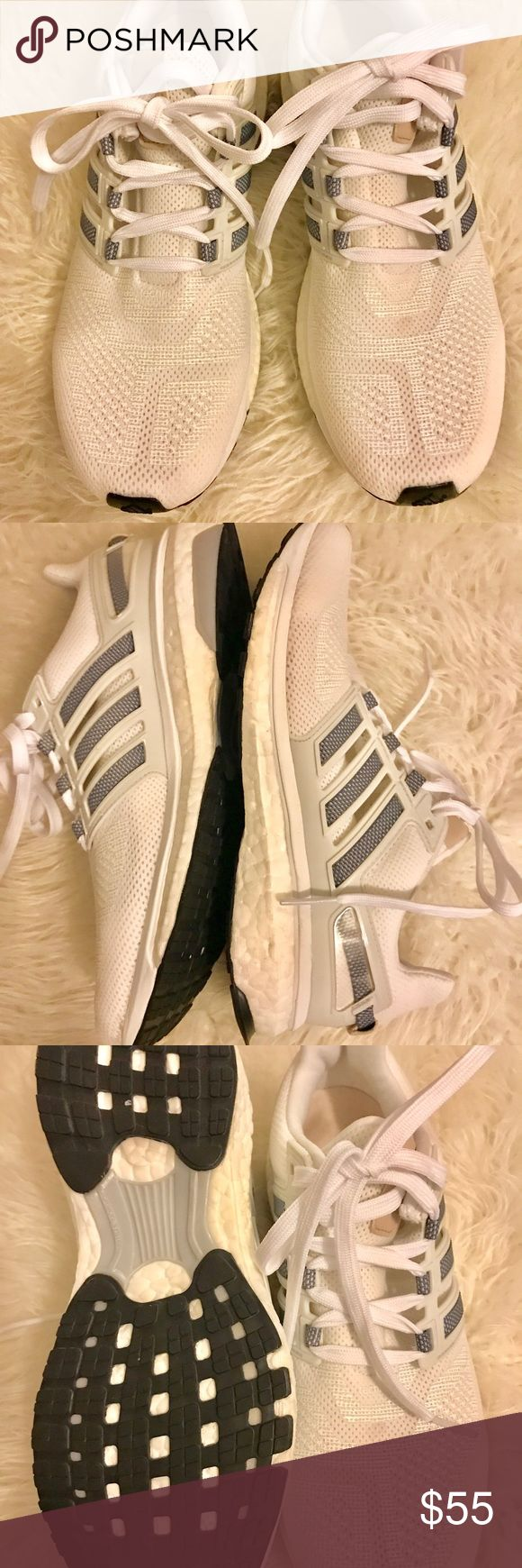 Adidas Energy Boost Running Shoes Pictures don't do it justice, super clean like new Adidas Energy Boost Running shoes size 7.5 fits more like a size 8. Mint condition adidas Shoes Sneakers