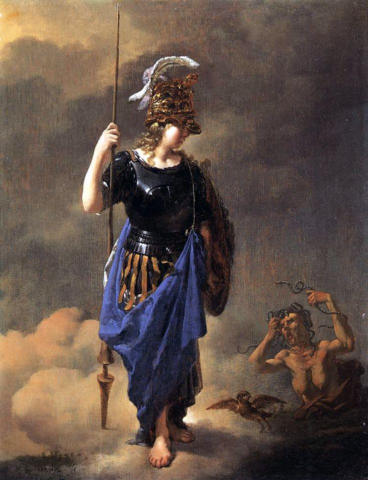pallas athena painting - photo #2