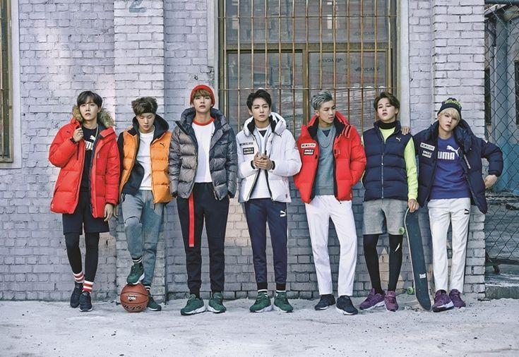 BTS Bangtan Boys for PUMA