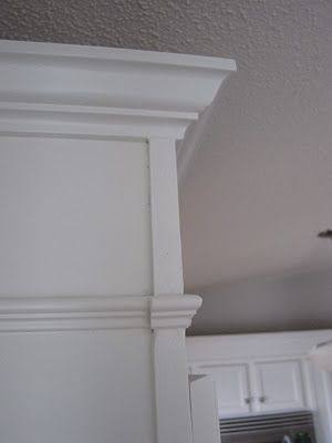 Extending the cabinets to the ceiling