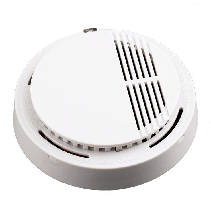 安定した光電ワイヤレス煙検出器高感度火災警報センサーモニターテスター用ホームセキュリティシステムコードレス
