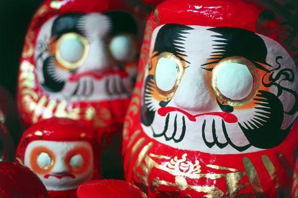 Significado do Boneco Daruma | Curiosidades do Japão