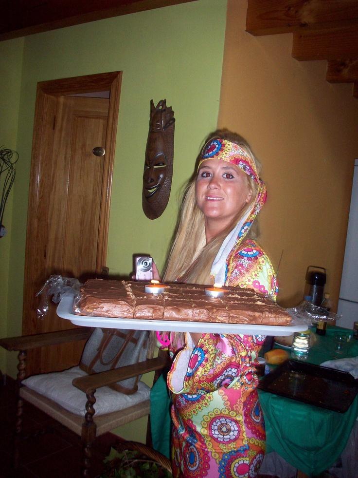 Hippy girl.. Disfraz de hippy. #partyideas #leondisfraces