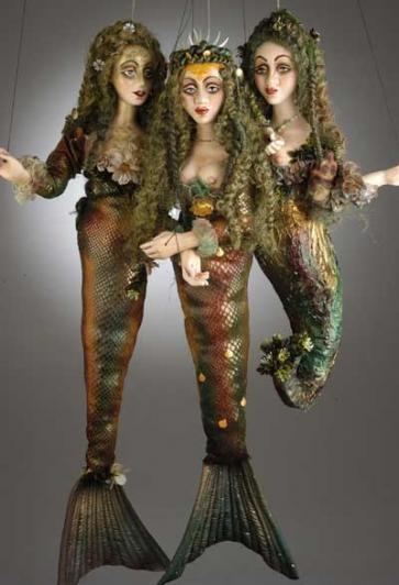 Mermaid Marionettes