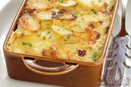 Receita de Batata com alecrim e alho - Comida e Receitas
