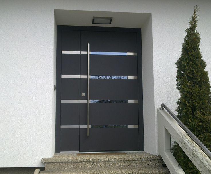 Haustüren modern glas  41 besten Eingangstür Bilder auf Pinterest | Eingang, Hauseingang ...