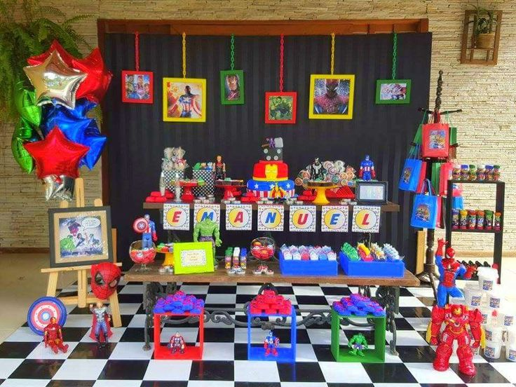 75 best Superhero party images on Pinterest | Birthdays, Superhero ...