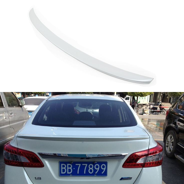 Car Styling Rear Trunk Roof Spoiler ABS Material For Nissan Sentra Sylphy 2014 2015 Without Paint Car spoiler Auto Decoration //Price: $61.99 & FREE Worldwide Shipping //     #accessories