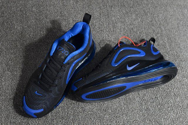 bas prix f25c8 357c1 High Quality Nike Air Max 720 Kpu Black Royal Blue AH2924 ...