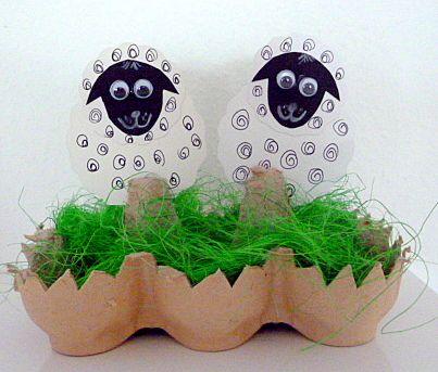 amazon/basteln-Ostern-Schaefchen-Eierwabe-Nest