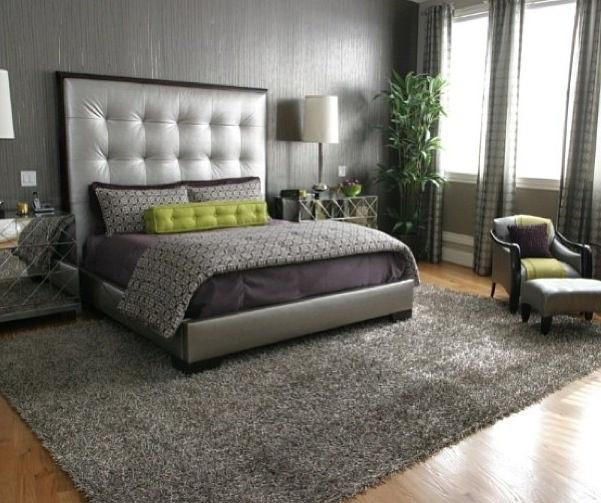 Green U0026 Gray Bedroom.