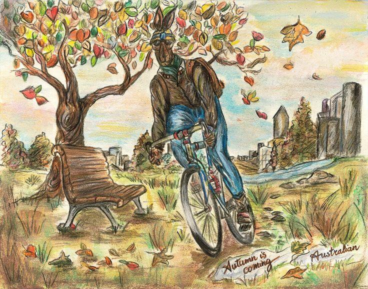 Live an amazing autumn along with #Australian  #Rooman #Autumn