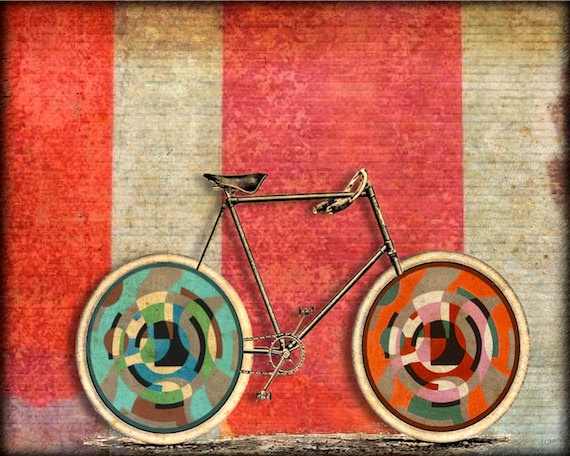 129 Best Bike Art Images On Pinterest Bicycle Art Art Paintings