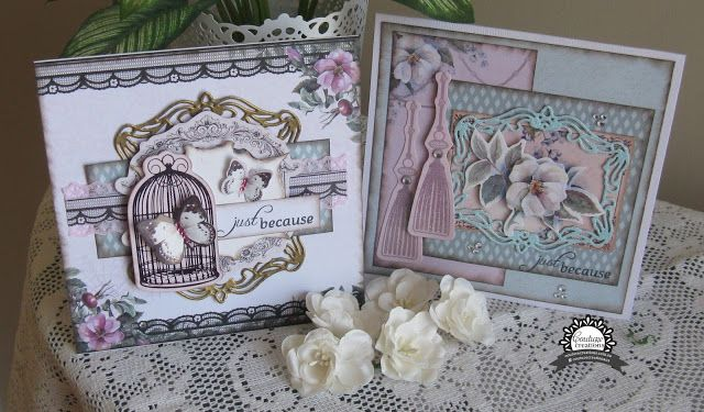 Couture Creations: Layered Magnolia Lane Cards by Jo Simons