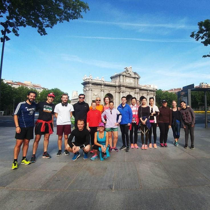 we do like bank holidays as we can have a run  lunch session! . #RUNCH #InterNations #Madrid . #mexico #germany #uk #china #southkorea #usa #spain #argentina . #clubEXATECrunning #EXATECrun #EXATEC . #runningfriends #expatlife #expat #instarunner #mexicanrunner #globalLocal #globalnomads #PuertaDeAlcala