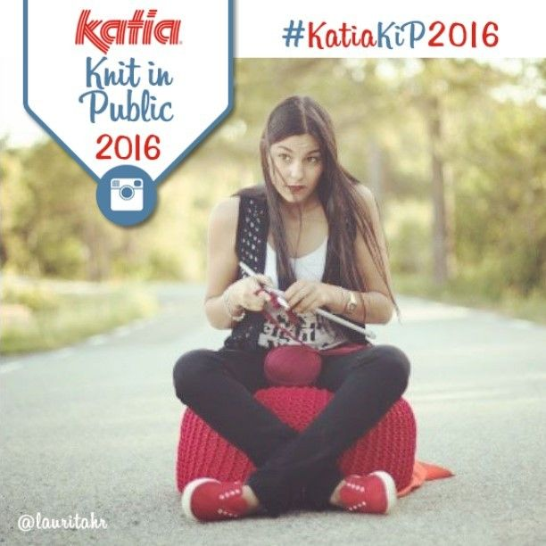 #KatiaKiP2016 ¿Cuál es tu lugar favorito para #tejer o hacer #ganchillo? Participa en nuestro concurso Katia Knit in Public 2016 | Which is your favourite place to #knit or #crochet? Take part in our Katia Knit in Public 2016 competition| Quel est votre endroit préféré pour #tricoter ou #crocheter? Participez à notre concours Katia #KnitinPublic 2016 | INFO -> BLOG: katia.com/blog/es - en - fr - de - nl - it -> Facebook: Katia Português | Pic by @lauritahr