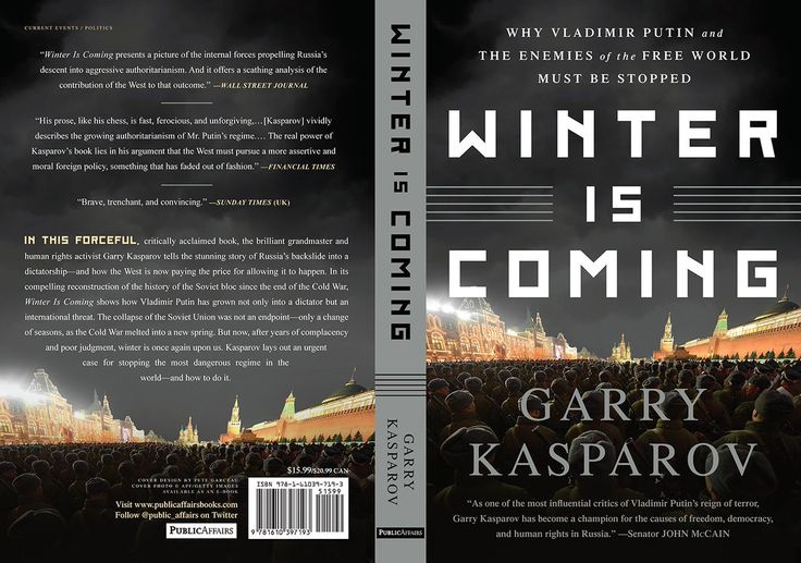 Garry Kasparov (@Kasparov63) | Twitter    If you want to know why Putin is a threat and what should be done,