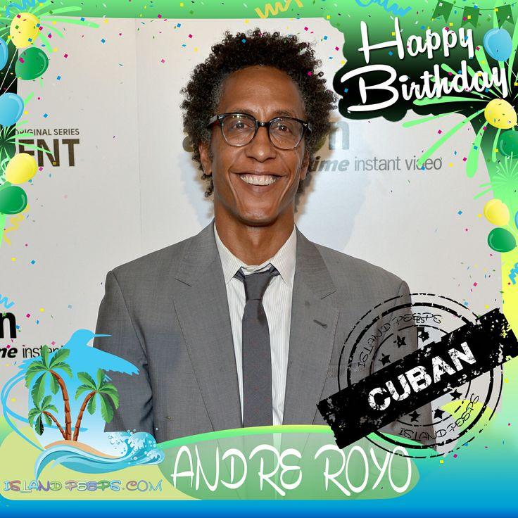 Happy Birthday Andre Royo!!! Actor born of Cuban descent!!! Today we celebrate you!!! #AndreRoyo #islandpeeps #islandpeepsbirthdays #TheWire #Bubbles #Empire #Thirsty #Cuba