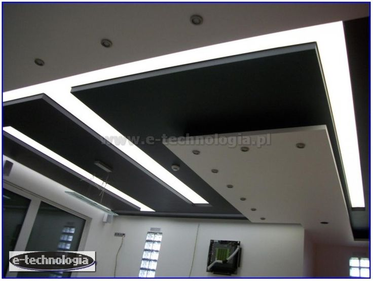 Lighting for the kitchen can be created through ceilings clamping illuminated with LED lighting. Kitchen design using LED lighting is the best way to economical and functional lighting. Visualization kitchen small and large with LED lighting E-technology will be presented in a unique way. How to decorate the kitchen? With our lighting to the kitchen is simple. www.e-technologia.pl