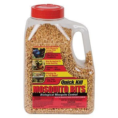 Quick Kill Mosquito Bits Shaker, 30 Ounces